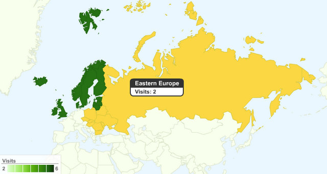 eastern europe by google
